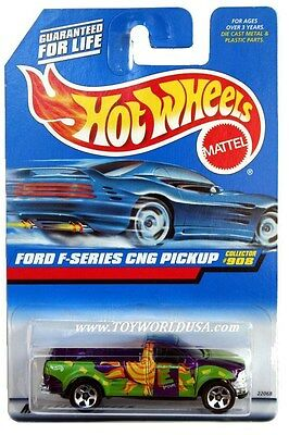1999 Hot Wheels #908 Ford F-Series CNG Pickup