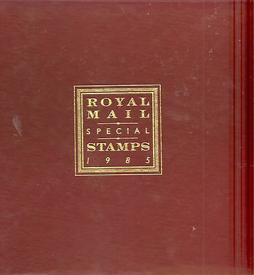 GB 1985 commemorative Yearbook complete with all stamps unmounted in pages vgc