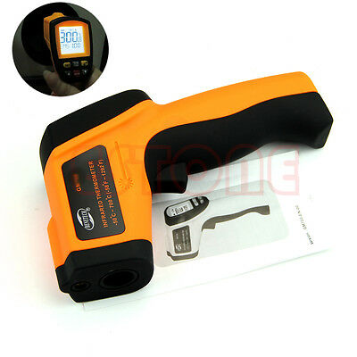 GM900 Non-Contact LCD IR Laser Digital Infrared Thermometer Temperature Gun