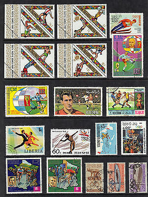 SPORT OLYMPICS etc Thematic Stamp Collection REF:E230