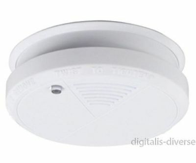Smoke Alarm Lithium Battery Powered with 10 Year Life 9v Optical  NEW AND SEALED