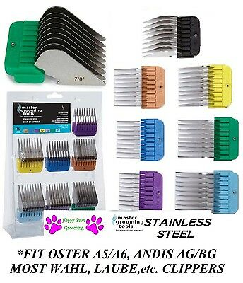 1-Clipper Blade Stainless Steel Attachment GUARD COMB*FIT Most Oster,Andis,Wahl
