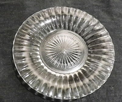 """Beautiful Heisey Chrysolite Glass Saucers   7 1/4"""" in Diam"""