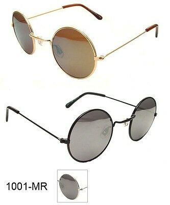 John Lennon Style Vintage Round Circle Retro Classic Mirror Sunglasses Men Women