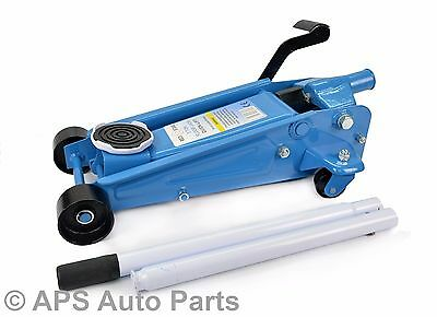 Heavy Duty 3 Ton Quick Lift Hydraulic Trolley Floor Jack Car Caravan Van 4x4