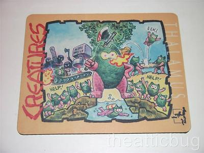 Thalamus Mouse Mat ~ 'Creatures' ~ NEW ~ Commodore 64 (ZZAP! 64 / Newsfield)