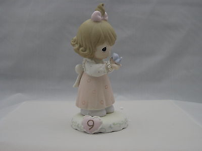 Precious Moments Growing In Grace Age 9 Brunette NIB