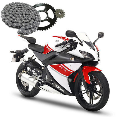 Yamaha YFZ-R125 2008-2016 Chain and Sprocket Set YFZ-R 125 YZF R Motorcycle Kit