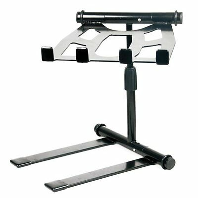 New Pyle PLPTS55 Universal Portable Foldable Telescoping Height DJ Laptop Stand