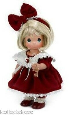 Precious Moments Doll 4358 YOU ARE THE KEY TO MY HEART, Blonde