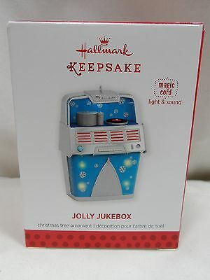 2013 Hallmark Keepsake Ornament Jolly Jukebox with Magic Cord