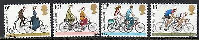 GB 1978 Cycling fine used set stamps