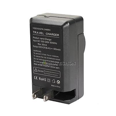 BP-511 US Plug Travel 100V-240V Battery Charger for Canon BP-511A BP-512 BP-522