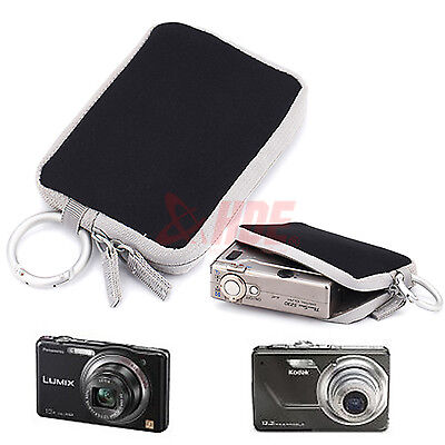 Soft Digital Camera Case for Cybershot Coolpix Powershot Lumix Finepix Easyshare
