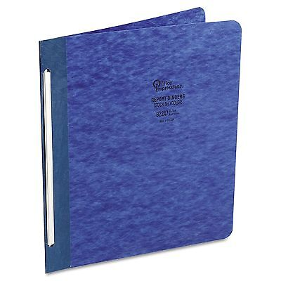 Office Impressions 4 Pack Pressboard Report Cover 3 in Capacity Dark Blue Letter