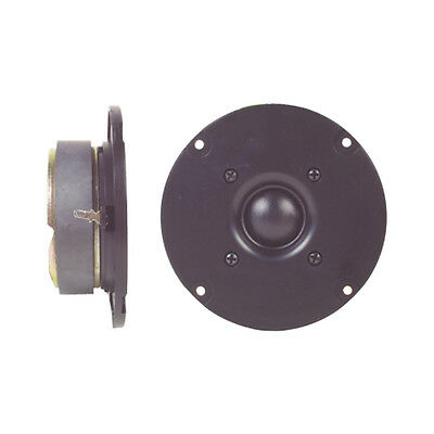 "ProSound 20W 4"" Soft Dome Tweeter HiFi Speaker Silk Cone"