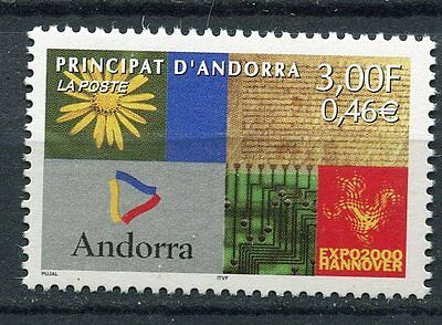 Timbre Andorre France Neuf N° 536   ** Expo De Hanovre Allemagne