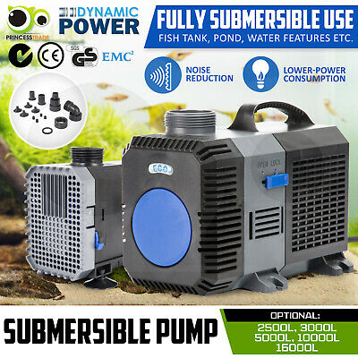 Submersible Aqua Aquarium Fountain Pond Marine Water Pump Fish Tank Air