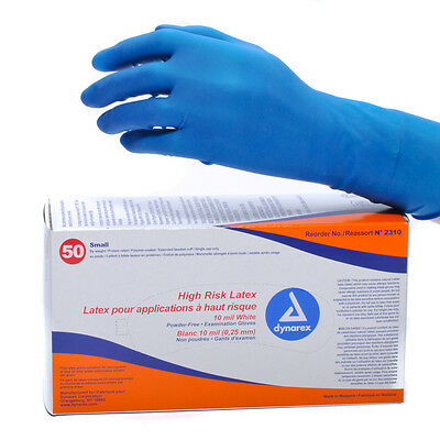 Dynarex High Risk Latex Glove Ex Long (50)