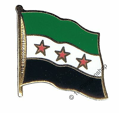 Syria 1932-1963 / Opposition - Free Syrian Army Pin Flags