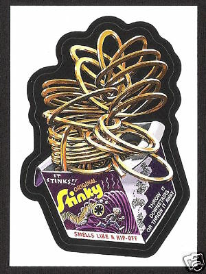2008 Wacky Packages FLASHBACK Bonus STINKY nm+