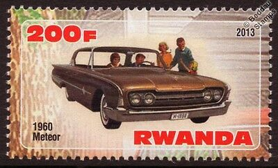 1960 MERCURY METEOR Car Automobile Mint Stamp (2013)