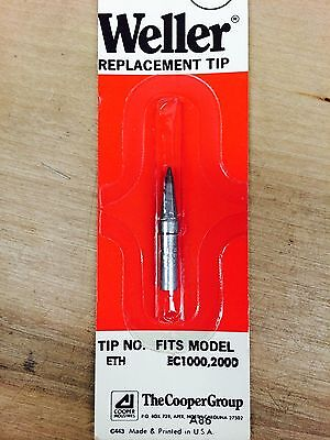 3X Replacement Weller ETH Solder Soldering Tip fits StationsWES51,PES50/&51,WESD5