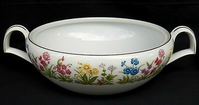 VINTAGE KENT CHINA WILDFLOWER SERVING BOWL/DISH OCCUPIED JAPAN