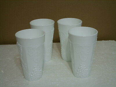 Indiana Colony Harvest Grapes Set Of 4 Tumblers