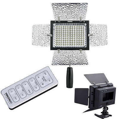 Yongnuo Pro YN160II YN-160II LED Video Light for Canon Nikon Olmypus DSLR Camera
