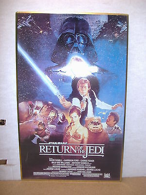 Star Wars: Return of the Jedi movie poster metal sign (USA, 1995)