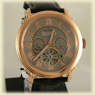 OROLOGIO PAUL WATCH AUTOMATICO DAY DATE