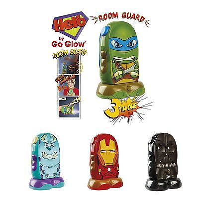 Go Glow Hero Room Guard - Voice Changer and Torch - New Kids Intruder Alarm Toy