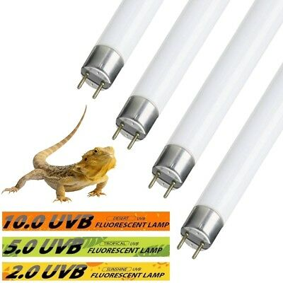 Reptile Flourescent Glo Tube Lamp Uv Bulb Vivarium Reptile Repti Pet Light Bulbs