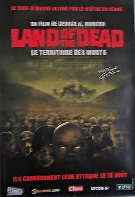 """Land Of The Dead Original French Movie Poster  D/S Rolled 68 3/4"""" X 46 3/4""""2"""