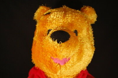 "DISNEY WINNIE POOH FISHER PRICE Floppy Bear 19"" PLUSH  Stuffed Animal Lovey Toy"
