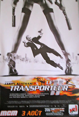 """Transporter 2 Original French  Movie Poster 68 3/4"""" X 46 1/2"""" Rolled D/S"""