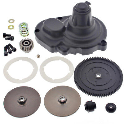 Losi 1/10 XXX-SCT Brushless 2WD SPUR & PINION GEARS, SLIPPER CLUTCH, PAD, COVER