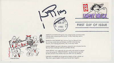 Signed Joan Rivers Fdc Autographed First Day Cover Cachet Authentic Signature!