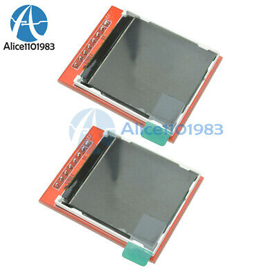 "2PCS 1.44"" Red Serial 128X128 SPI Color TFT LCD Module Replace Nokia 5110 LCD"
