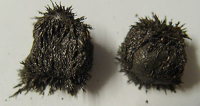 NATURAL LODESTONES 1 x PAIR GENUINE & LIVE Wicca Witch Pagan Goth Spell MAGNETS