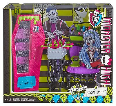 Monster High Social Spots Student Lounge Accessory Playset Brand New in Box