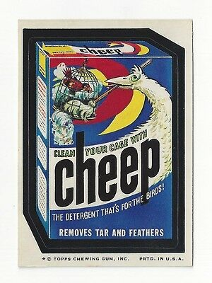 1974 Topps Wacky Packages 8th Series 8 CHEEP DETERGENT nm o/c