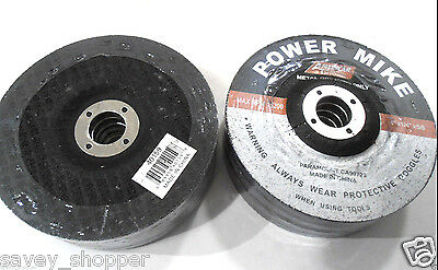 "Lot Of (20) 4"" Inch X 5/8"" Arbor Grinding Wheel/disc"