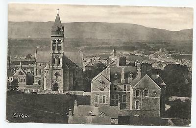 irish postcard ireland sligo town