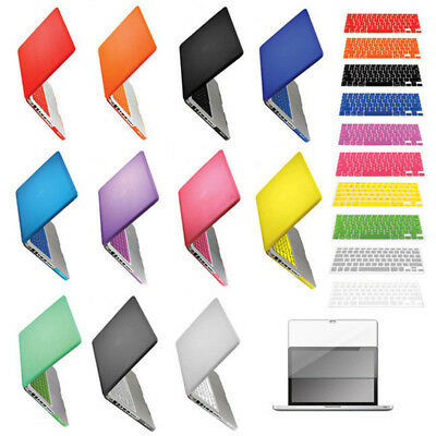 """Plastic Hard Case for Macbook PRO 13"""" A1278 + Keyboard Skin Cover+LCD Screen"""
