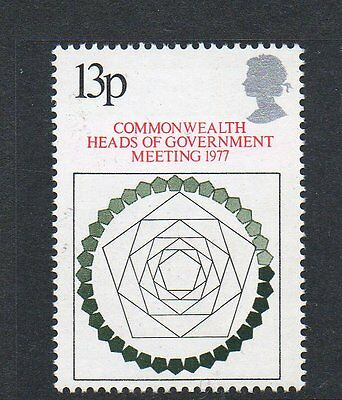 GB 1977 Commonwealth Heads of Government meeting unmounted mint stamp