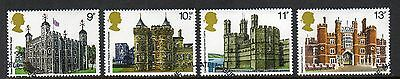 GB 1978 British Architecture fine used set stamps