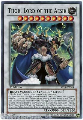 SP14-EN048 Thor, Lord of the Aesir 1st Edition Mint YuGiOh Card