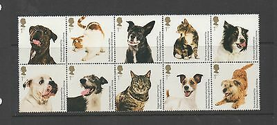 GB 2010 150th Anniversary Battersea Dogs & Cats Home unmounted mint set stamps